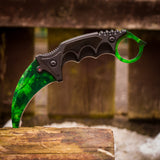 Karambit Gamma Doppler Emerald in Real Life IRL from Counter Strike Global Offensive!