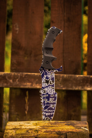 CSGO Huntsman Knife - Freehand graffiti - cs:go knives in real life, irl, uk