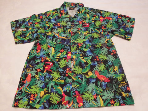 Men's Jungle Jewels Hawaiian Shirt