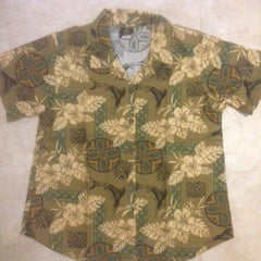 Women's Ocean Island Hawaiian shirt