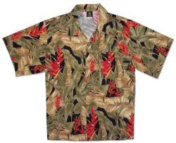 Women's Vintage Paradise Hawaiian shirt
