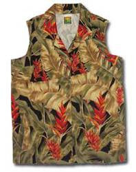 Women's Sleeveless Vintage Paradise Hawaiian shirt