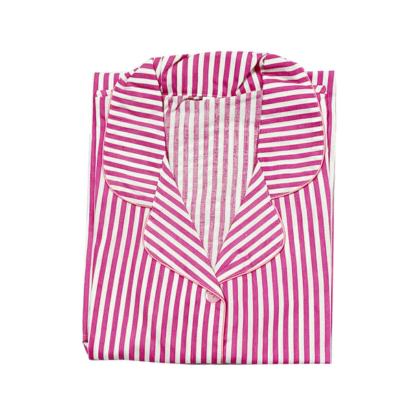 Pink Striped Maternity