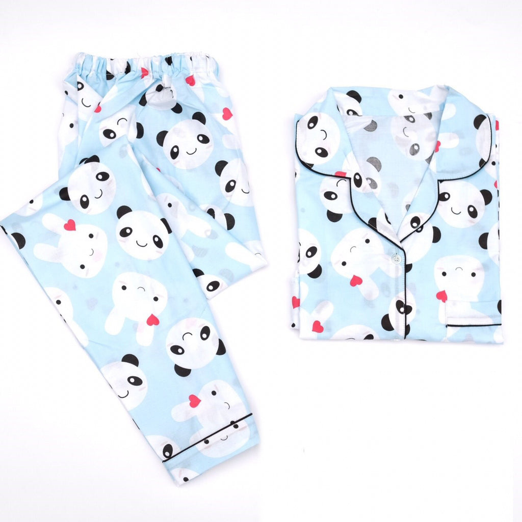 Panda Bunny Long Pants Set