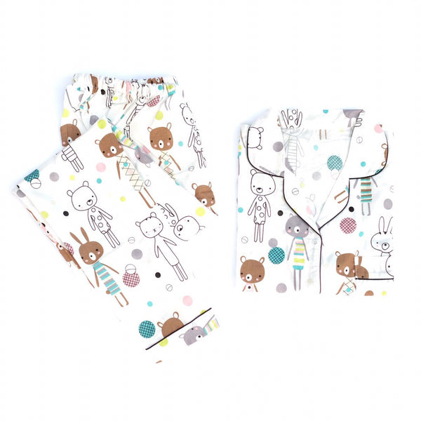 Thin Bunny Long Pants Set