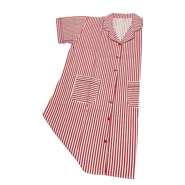 Red Striped Maternity