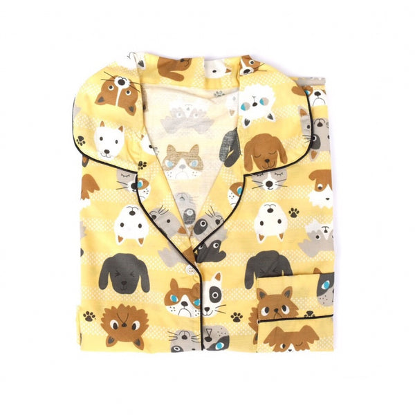 Dog Short Pants Set