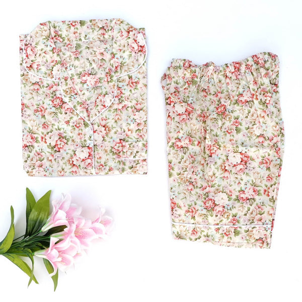 Flower Festival Short Pants Set