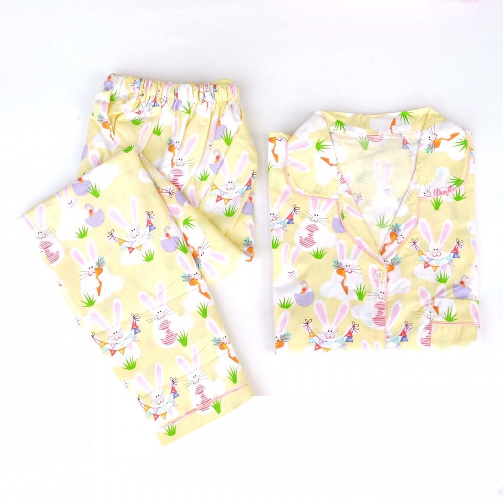 Spring Bunny Long Pants Set