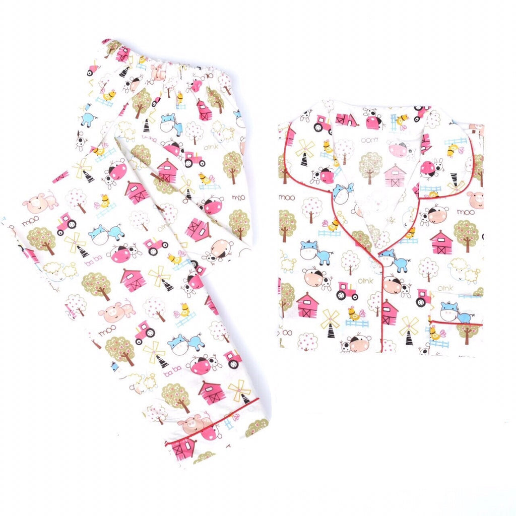 Moo Long Pants Set