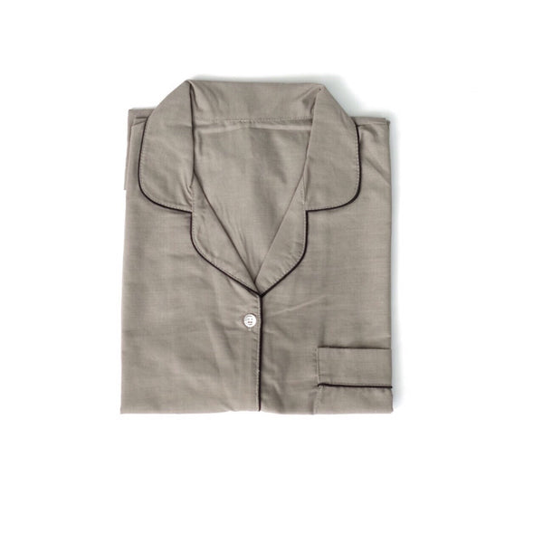 Plain Grey Short Pants Set