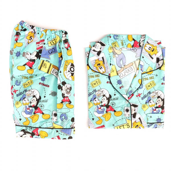Mickey Short Pants Set