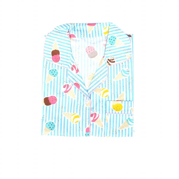 Blue Ice Cream Sleepdress
