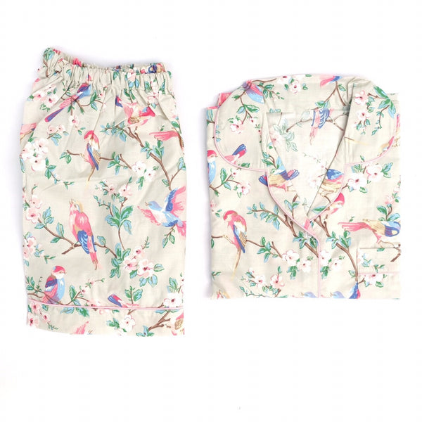 Hummingbird Short Pants Set