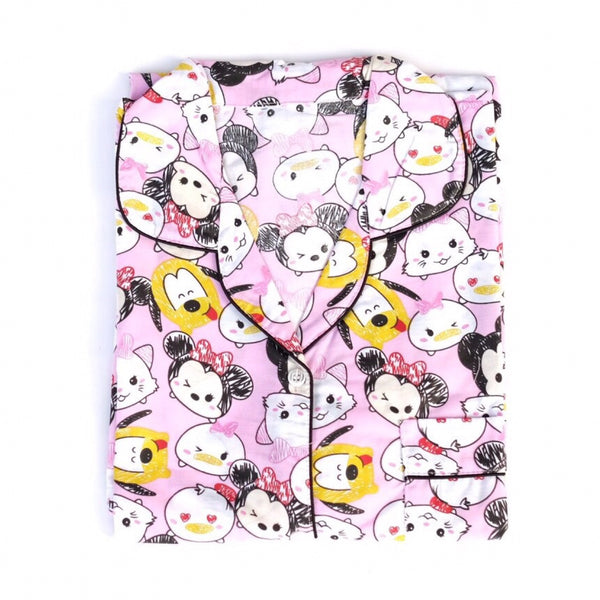 TsumTsum Pink Short Pants Set