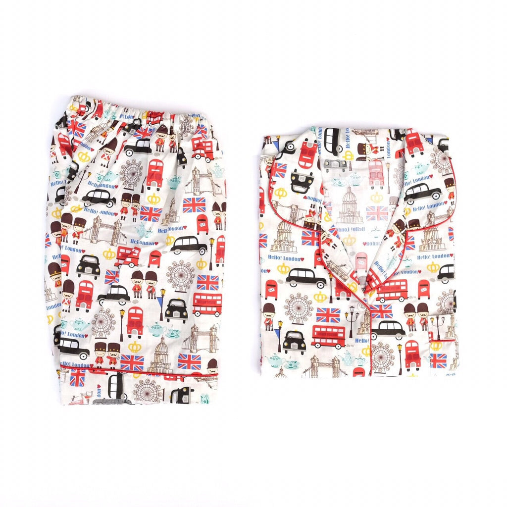 London Short Pants Set