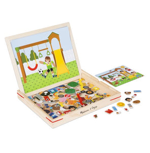Wooden Magnetic Matching Picture Game Melissa & Doug