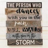 """Dance In The Rain"" Wall Art"
