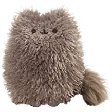 GUND Pusheen's Little Brother Pip Plush Stuffed Animal, Dark Gray, 6.5""