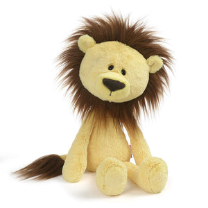 GUND Toothpick Zane Lion Plush Stuffed Animal, Yellow, 15""