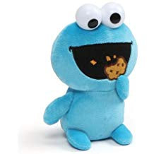 GUND Cookie Monster Emoji Sesame Street