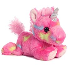 Jellyroll Unicorn Plush Aurora World