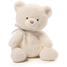 Baby GUND Oh So Soft Teddy Bear Stuffed Animal Plush, Cream, 12