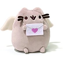 Gund Pusheen Cupid Plush, 4.25