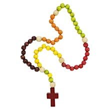 My First Rosary Large Wooden Beads