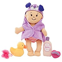 "Wee Baby Stella 12"" Soft Baby Doll and Bathing Set"