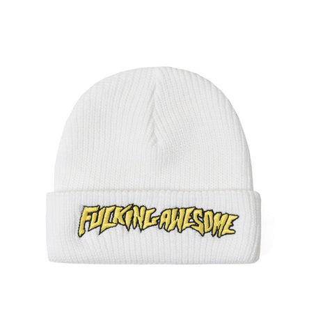 FUCKING AWESOME EMBROIDERED BEANIE