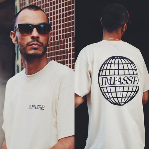 IMPASSE GLOBAL TSHIRT OFFWHITE