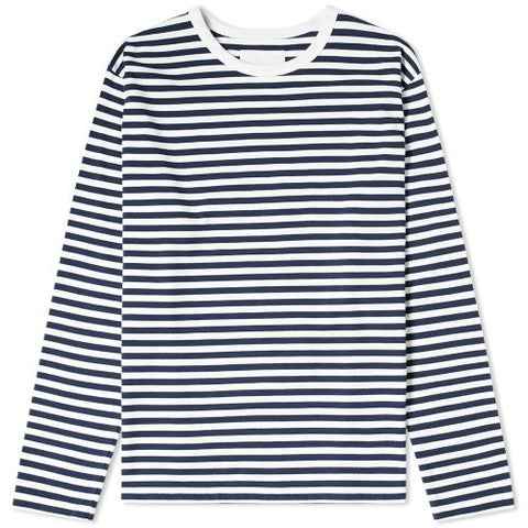NANAMICA COOLMAX® STRIPED LONG SLEEVE
