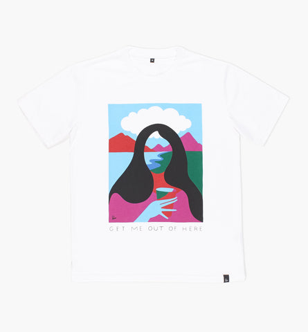 BY PARRA GET ME OUT OF HERE TEE