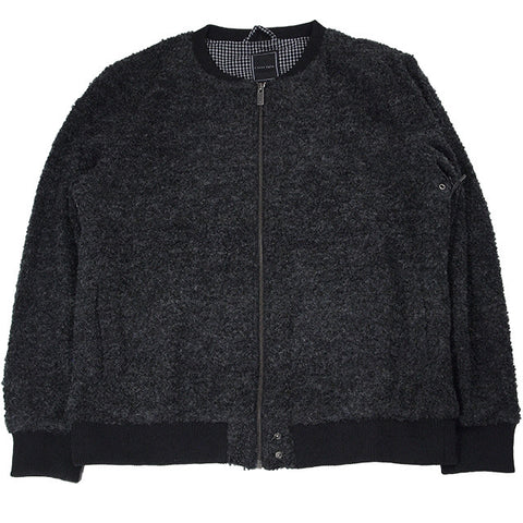 ILOVEUGLY WOOL BOUCLE BOMBER