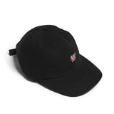 RAISED BY WOLVES WWW POLO CAP (BLACK)