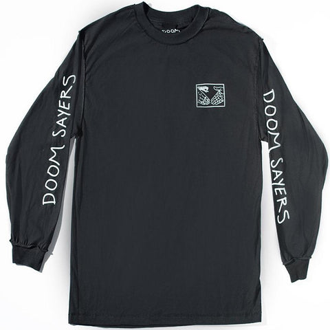 DOOM SAYERS CLUB INSIDE OUT LS BLACK