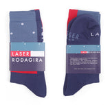 LASER BARCELONA X RODAGIRA PERFORMANCE SOCKS