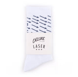 LASER BARCELONA x DELUXE CYCLES NYC-BCN PERFORMANCE SOCKS