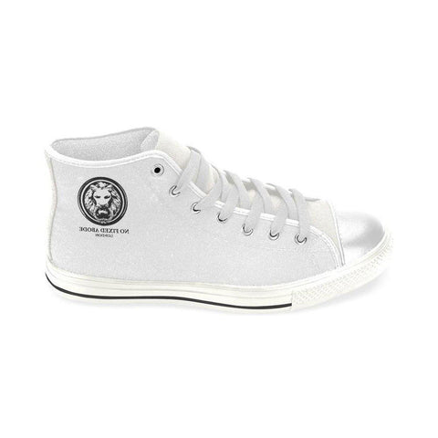 White Lion Men's Classic High Top Canvas Shoes