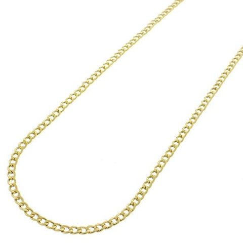 18K Gold Plated Classic Chain Link Necklace