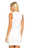 Women's Sleeveless Dress with Slits