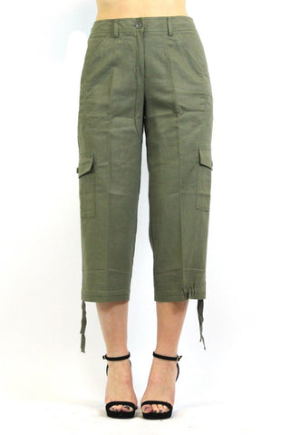 Women's Larry Levine Crop Pants
