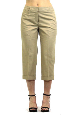 Women's Larry Levine Stretch Crop Pants