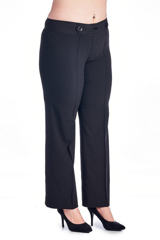Larry Levine Stretch Pant