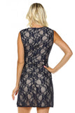 Women's Fitted Lace Dress