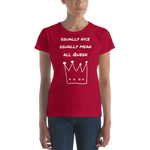 All Queen Women's short sleeve T-shirt