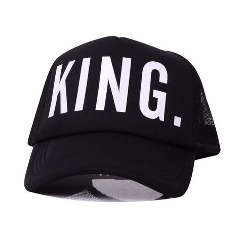 "Trucker "" KING & QUEEN ""  Caps"