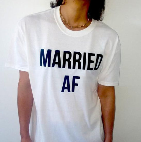 MARRIED AF Women's T-Shirts