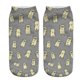Ladies Ankle Pop Culture Socks